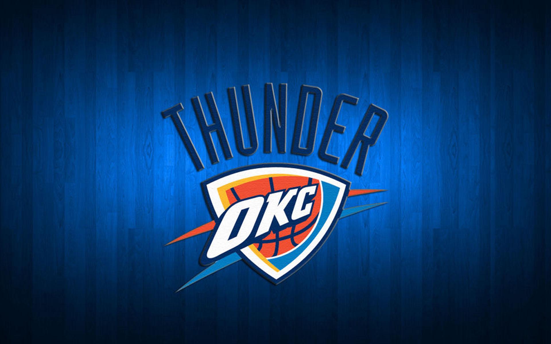 Oklahoma City Thunder Basketball Team Logo Wallpapers HD 1920x1200