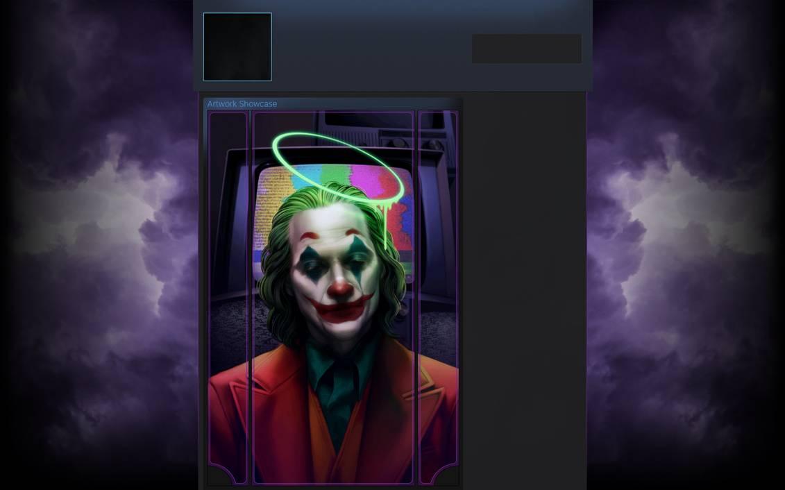 Joker steam background animated by Ivpavik 1131x706