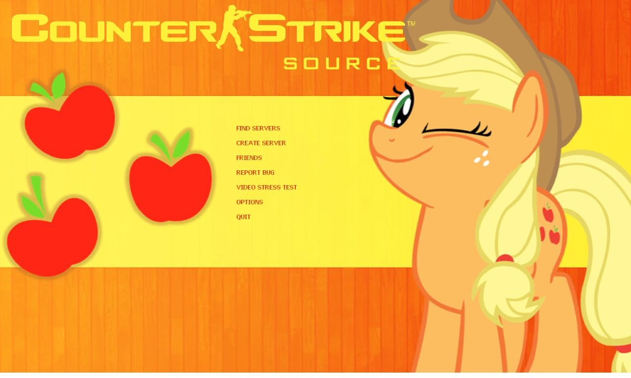AppleJack Background for CSS [Counter Strike Source] [GUI Mods] 1280x768