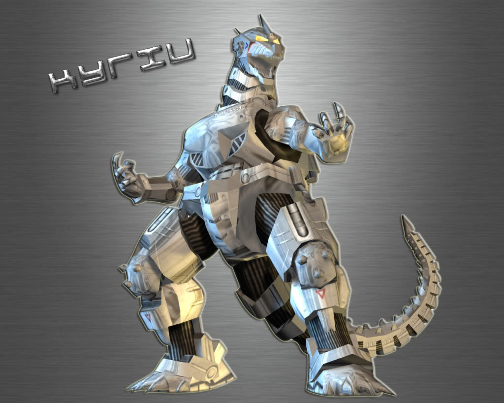 Mecha Godzilla Wallpaper 1024x819
