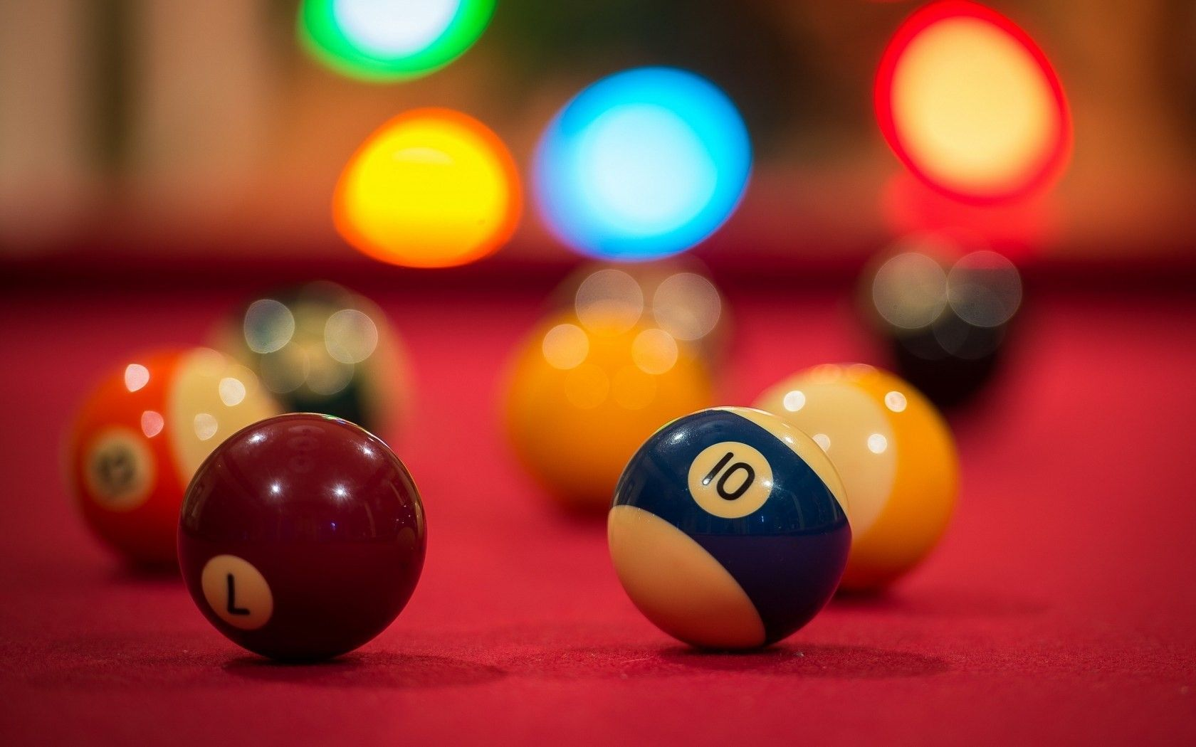 billiard balls sport hd wallpaper Sport HD Wallpapers 1680x1050