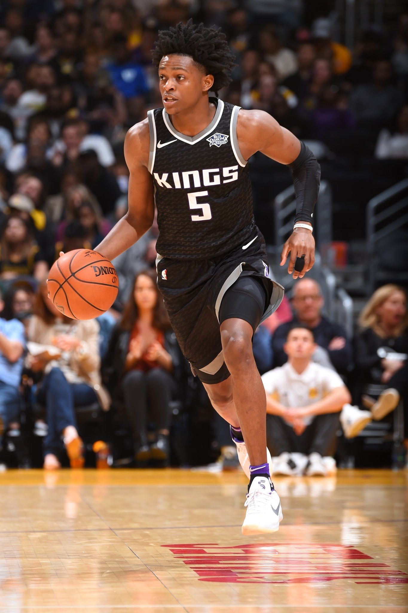 DeAaron Fox Kings Basketball Sacramento Kings Basketball 1365x2048