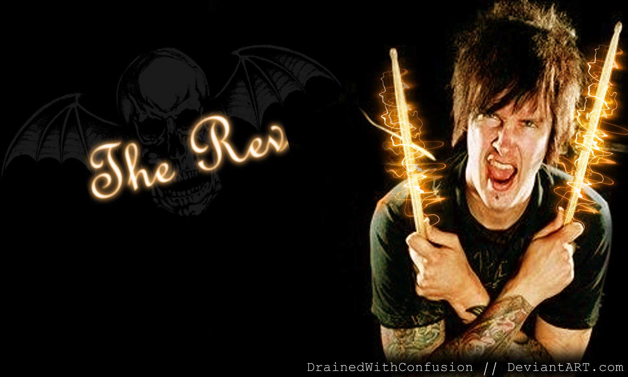 The Rev   Wallpaper 1 by DrainedWithConfusion 2000x1200