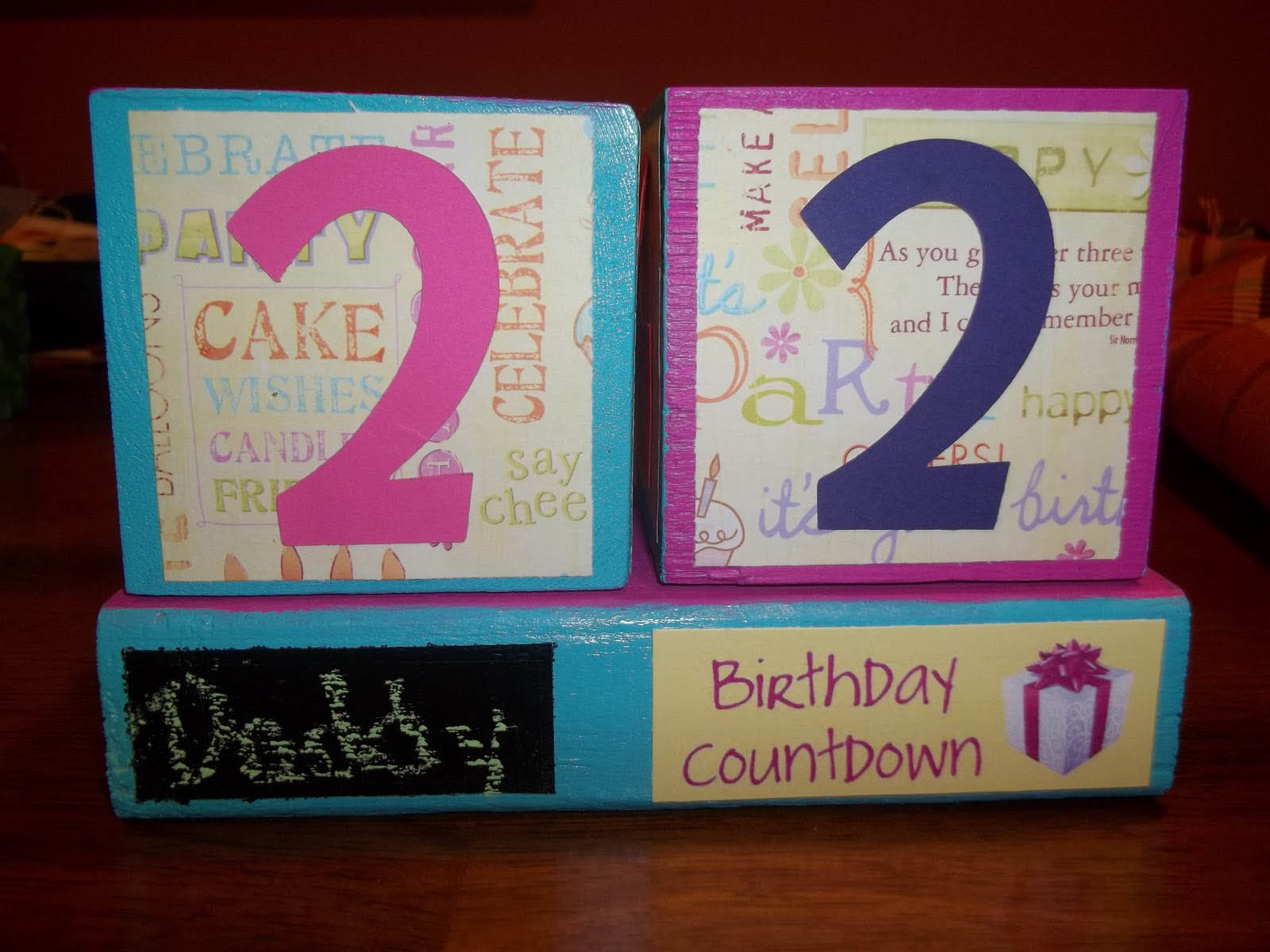 Birthday Countdown Cute Wallpapers for Desktop 1600x1200