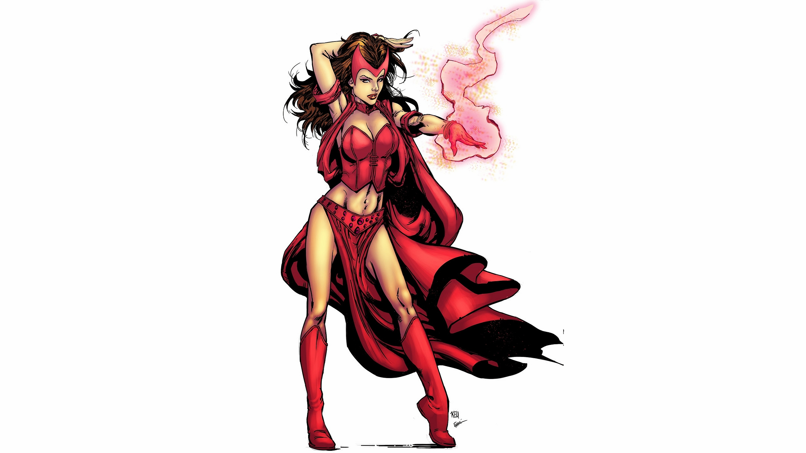 Scarlet Witch Computer Wallpapers Desktop Backgrounds 2600x1462 2600x1462