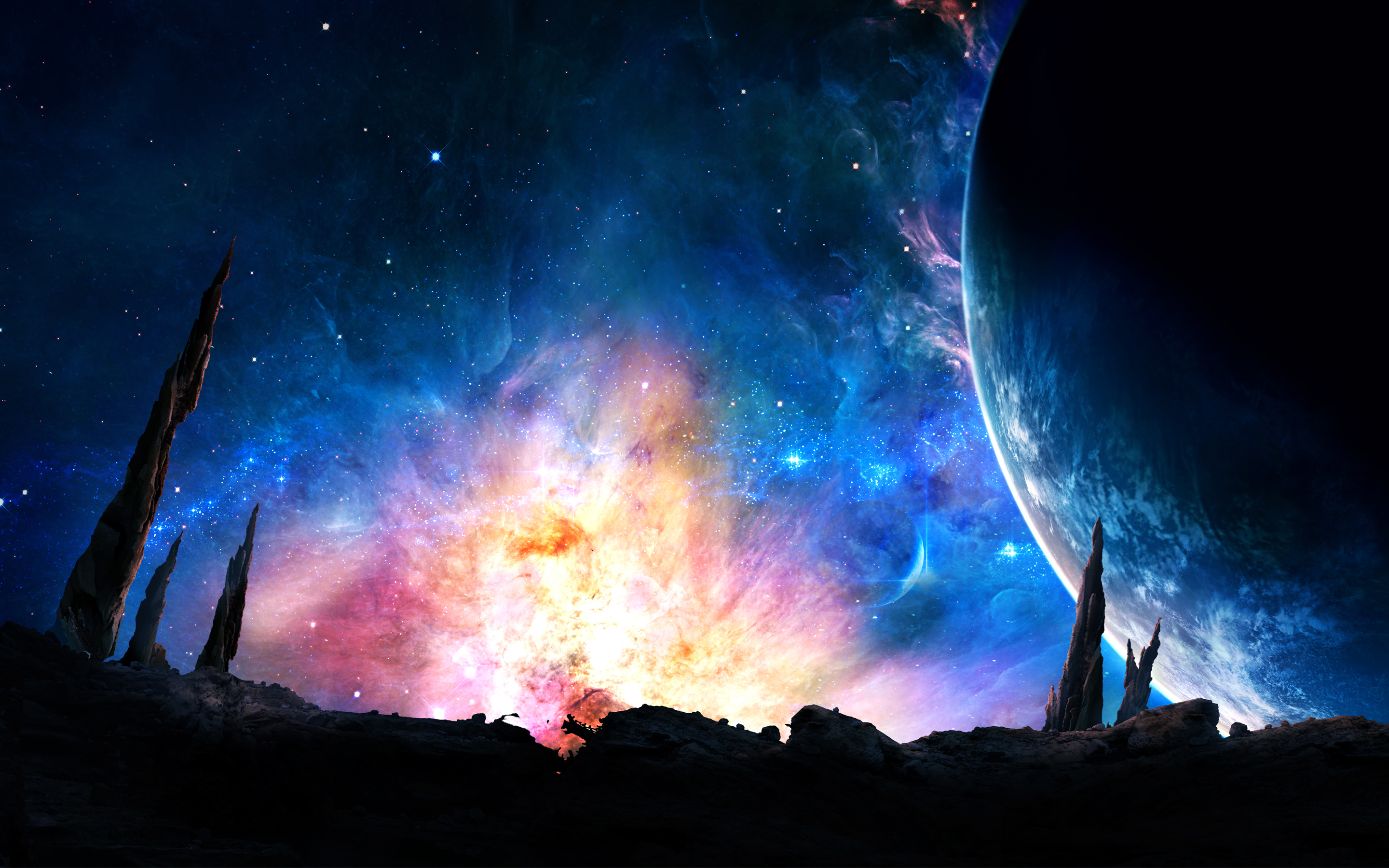 Galaxy Power Wallpapers HD Wallpapers 2880x1800