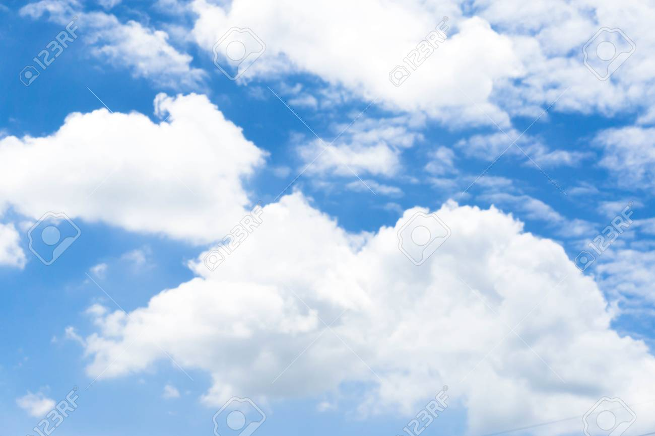 Blue Sky With Cloud Closeup Blue Sky With Clouds Background Blue 1300x866