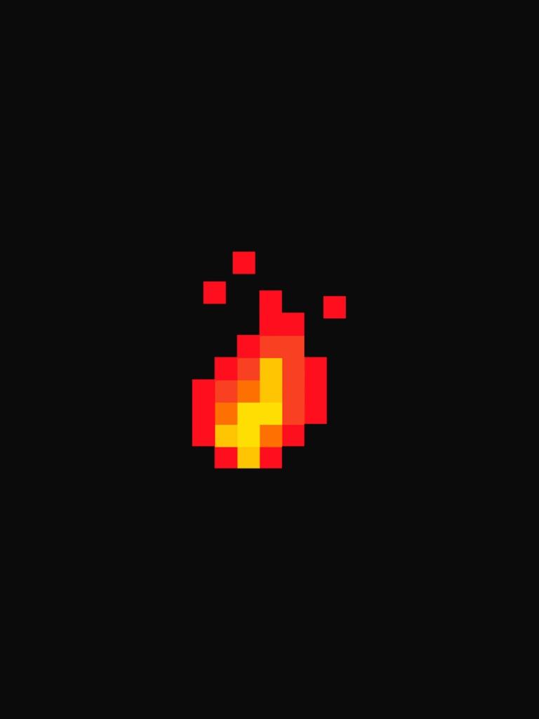 Fire 8 Bit 768x1024