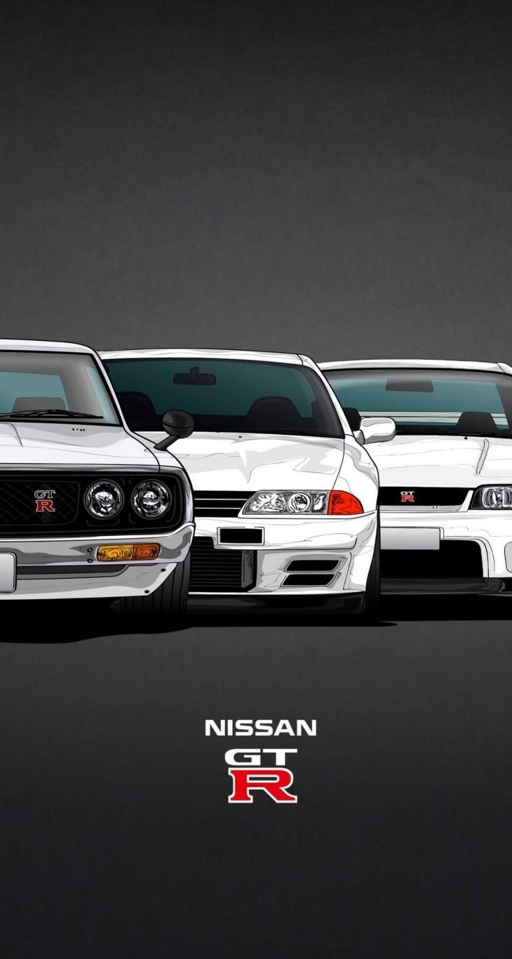Wallpaper iphone gtr - Nissan Skyline Gt R Evolution Wallpaper For Apple Iphone 5 5s