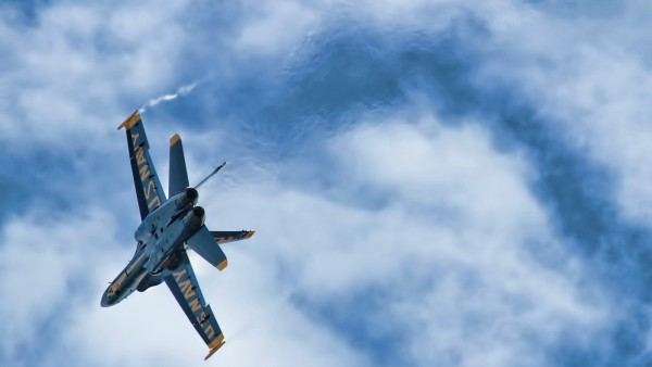 Blue Angels Aircraft In The Sky   Wallpapers HD Download Desktop 600x338