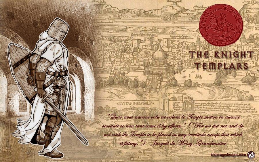 Knight Templar wallpaper by daratgh 900x563
