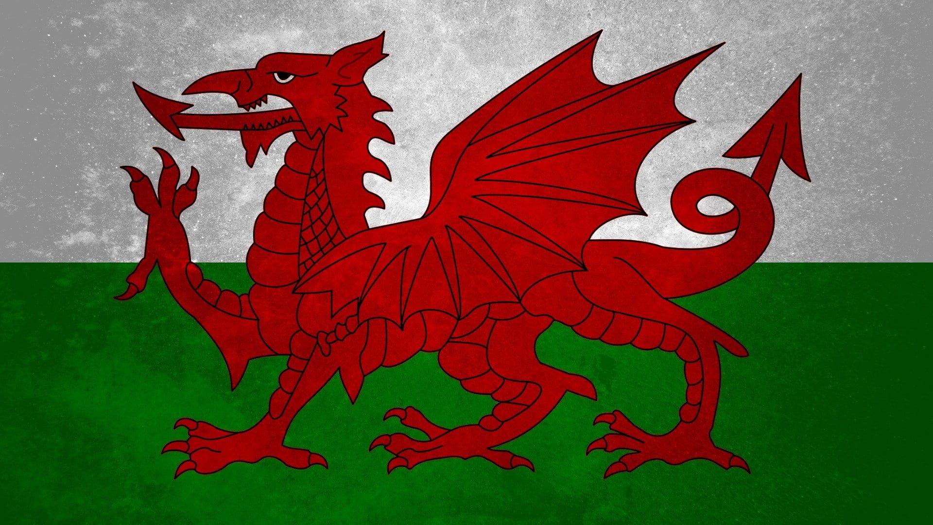 HD wallpaper Wales flag Wallpaper Flare 1920x1080