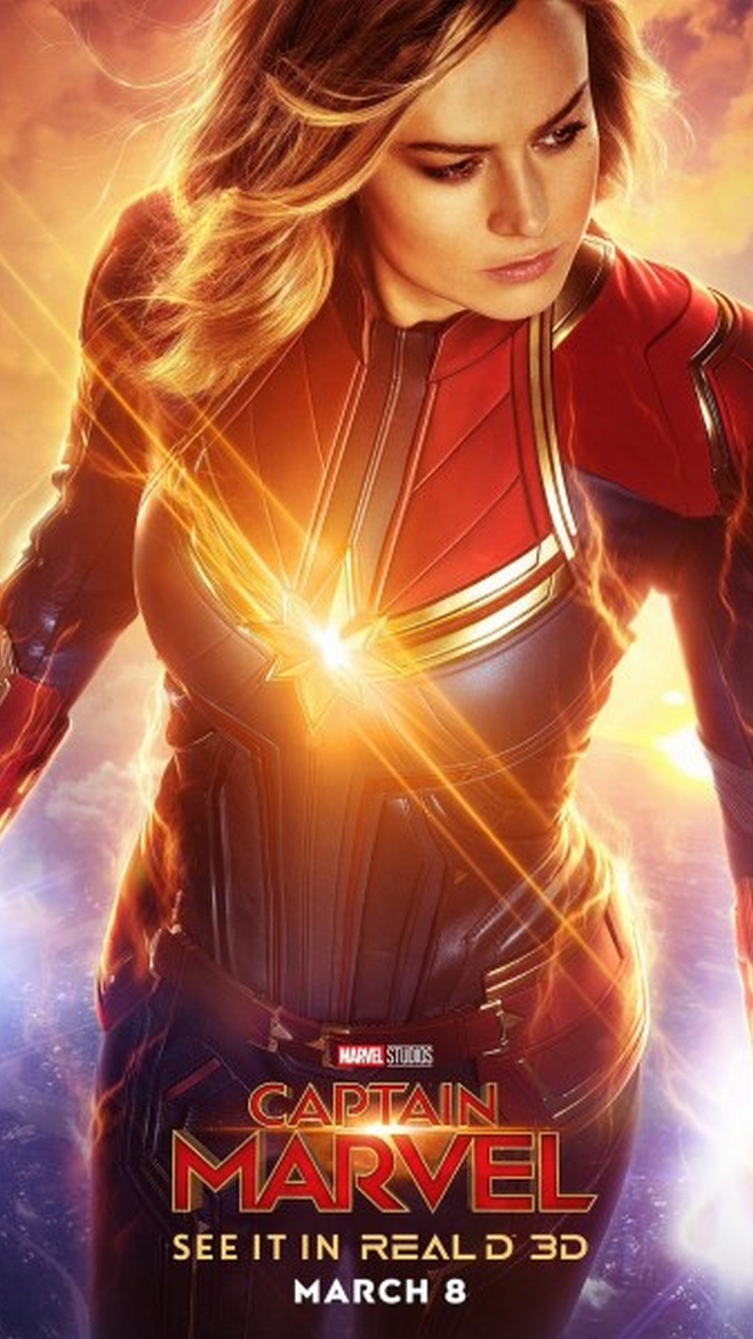 32] Captain Marvel Phone Wallpapers on WallpaperSafari 1080x1920