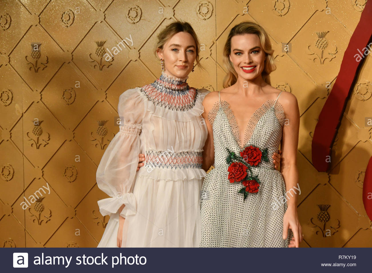 Saoirse Ronan And Margot Robbie High Resolution Stock Photography 1300x956
