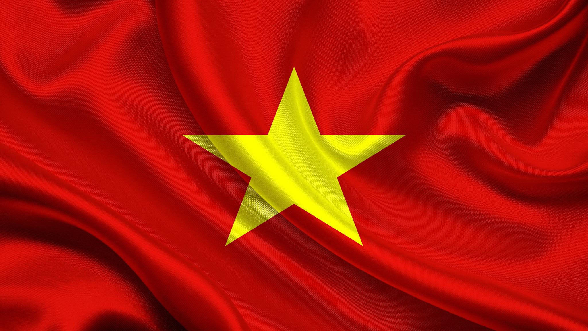 Images Stars Vietnam Flag 2048x1152 2048x1152