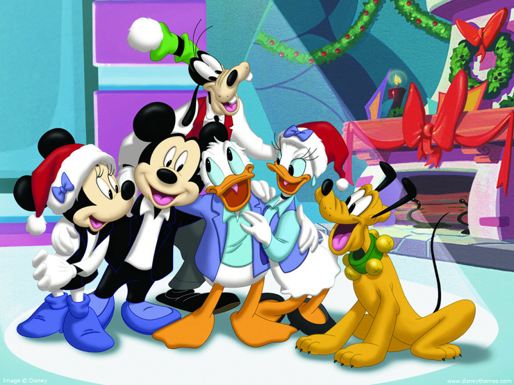 mickey mouse and friends minnie mouse wallpapers by kawarbir mickey 740x555