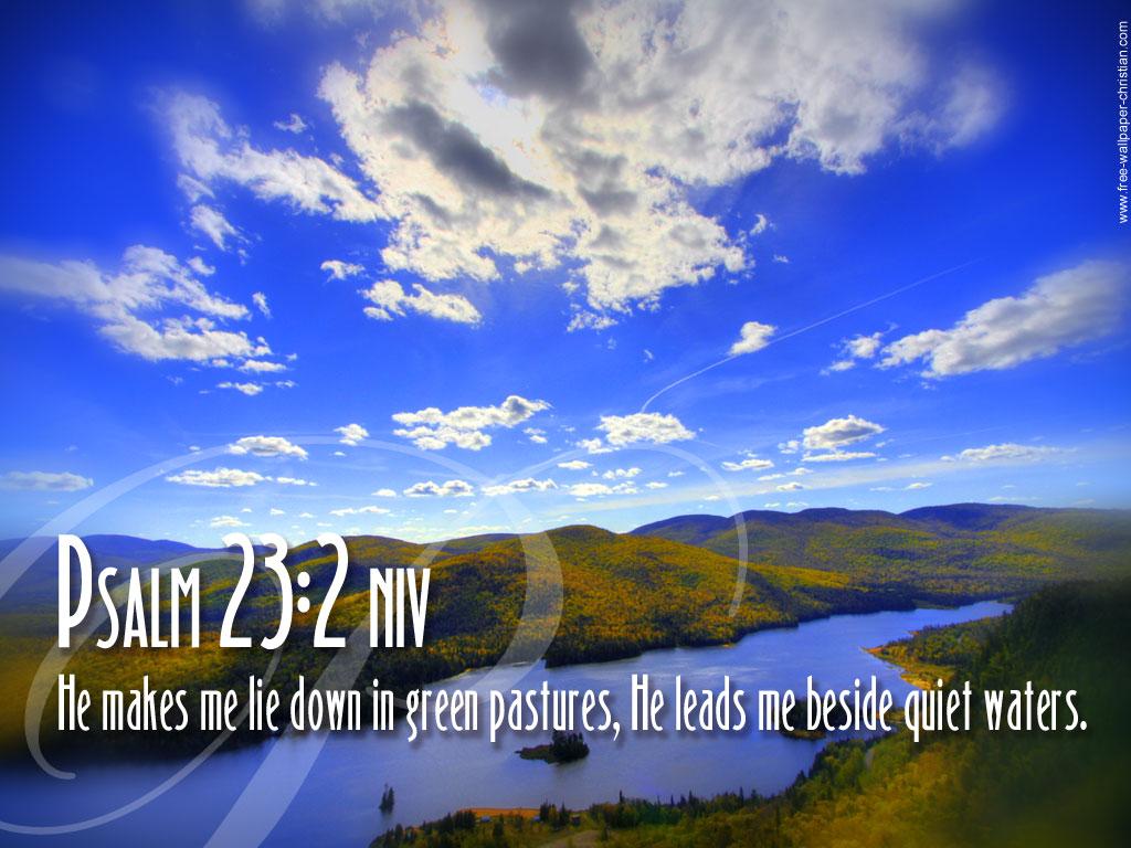 download Desktop Bible Verse Wallpaper Psalm 23 2jpg 1024x768