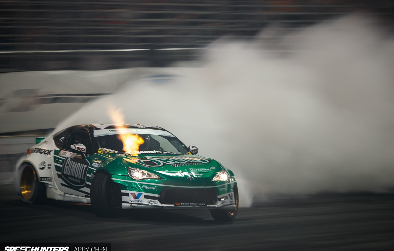 Wallpaper smoke speed skid track Formula Drift images for 1332x850
