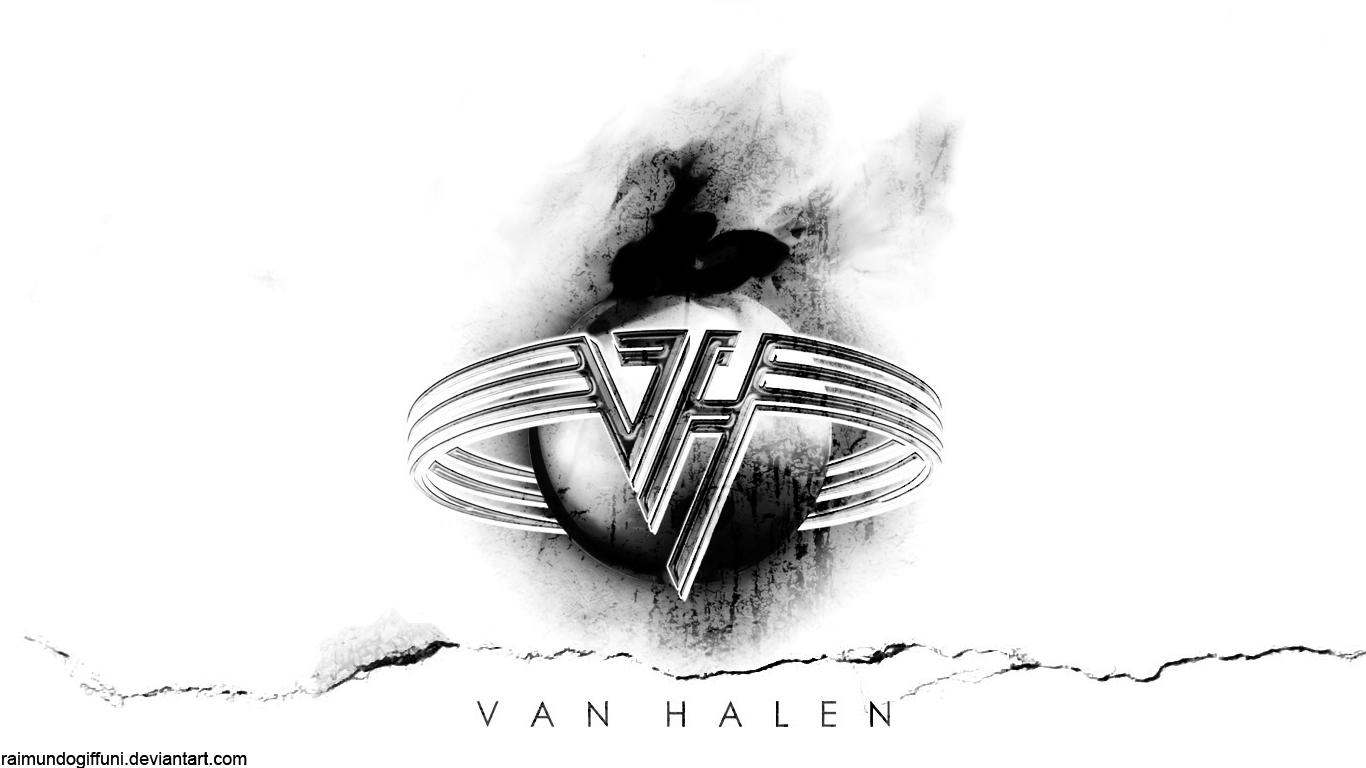 Van Halen White Wallpaper by raimundogiffuni 1366x768