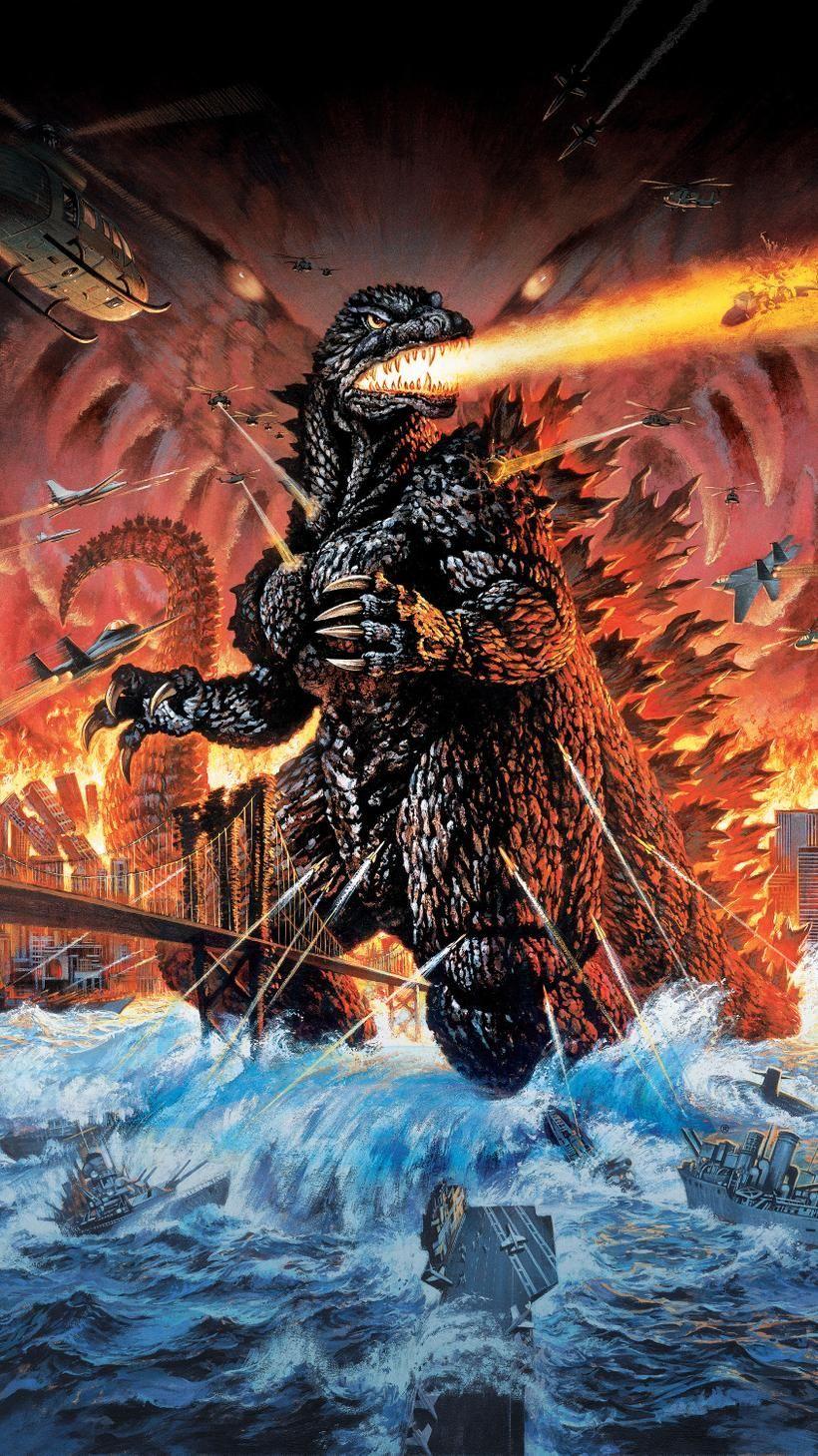 Godzilla 2000 Wallpapers   Top Godzilla 2000 Backgrounds 820x1459