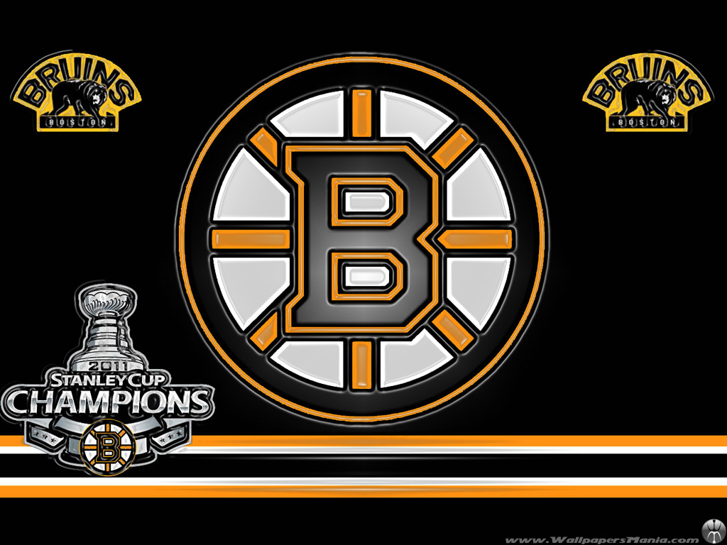 bruins logo iphone wallpaper