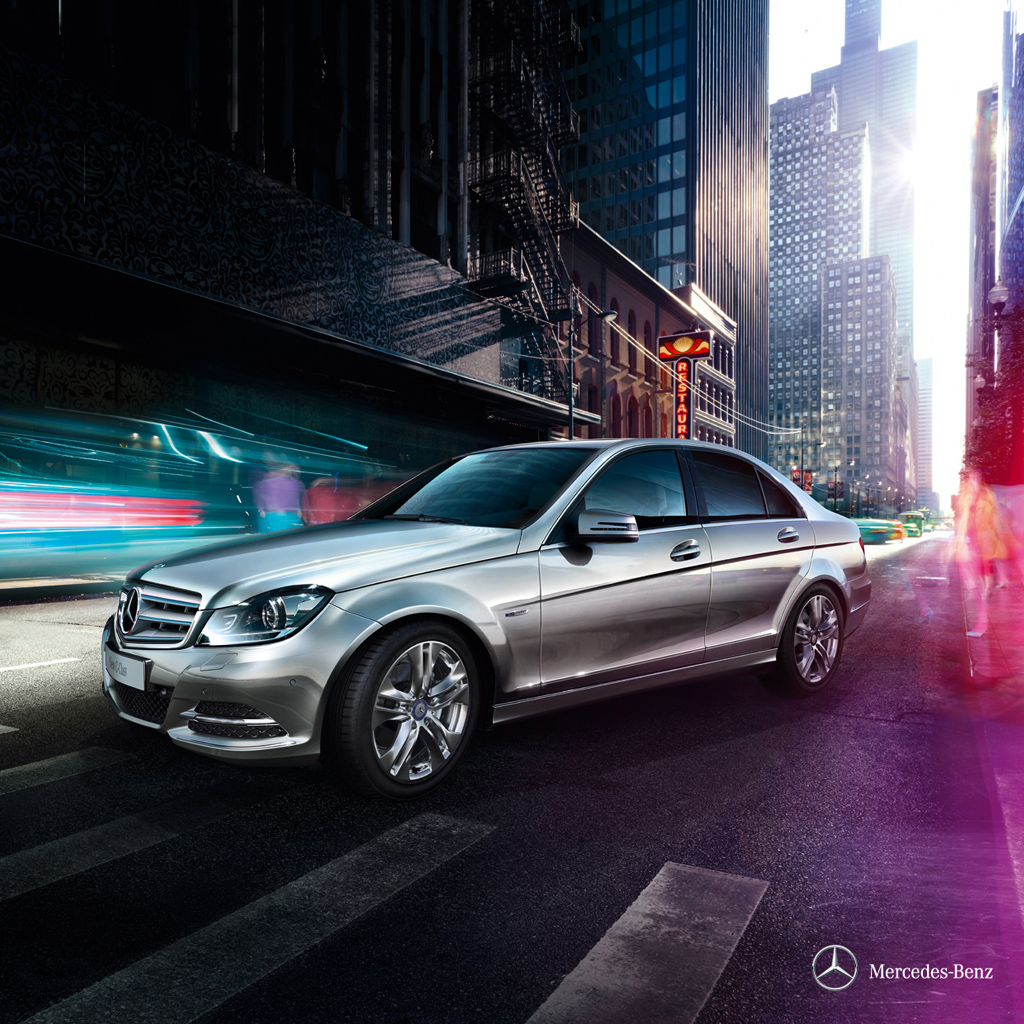 Mercedes Benz C300 Wallpaper
