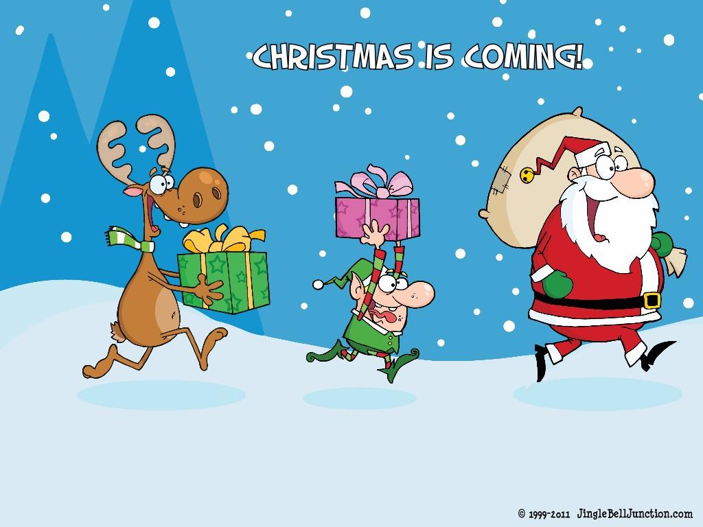 Christmas Desktop Wallpaper Jinglebell Junction 1024x768