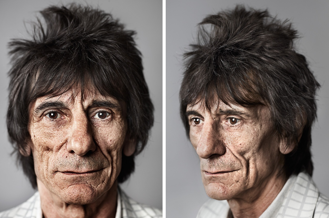 Ronnie Wood Diptych Wallpaper Ronnie Woods Photo Shared By 1358x900