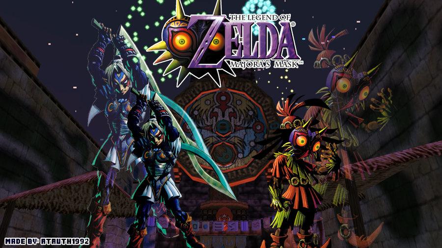 Zelda Majora S Mask 3ds Wallpaper Wallpapersafari