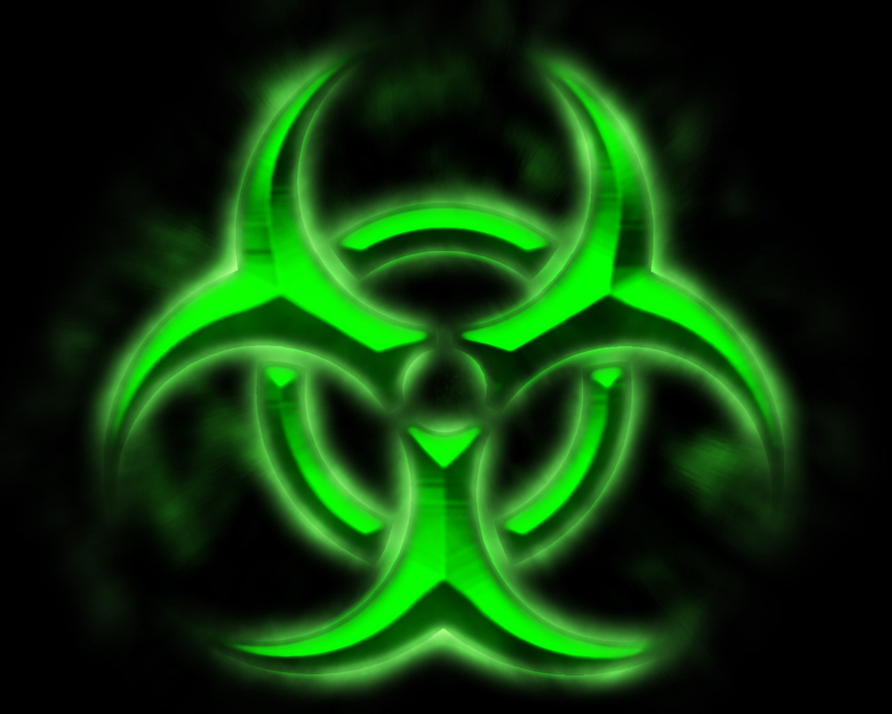 Green Biohazard Wallpaper - WallpaperSafari