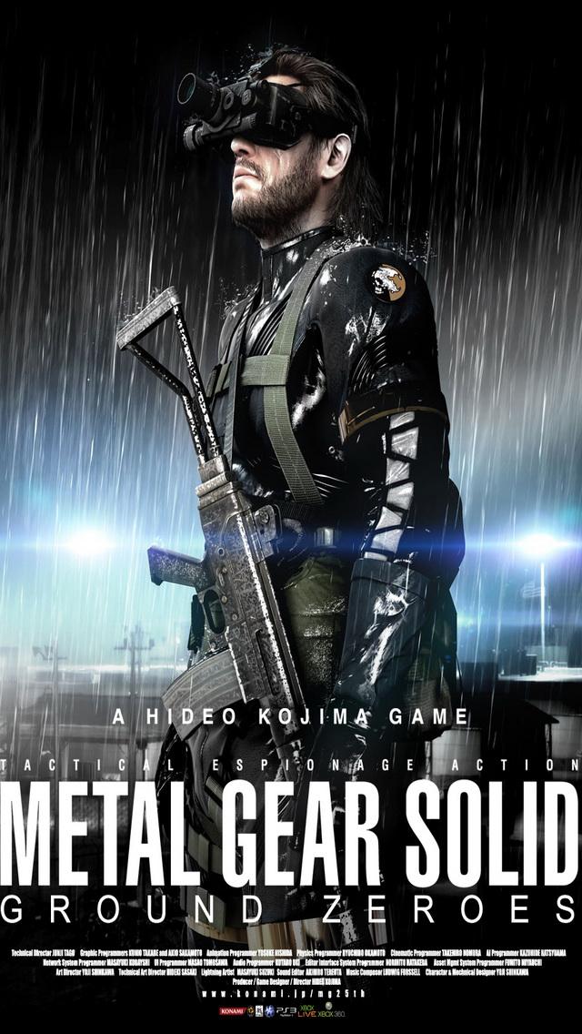 metal gear solid iphone wallpaper wallpapersafari