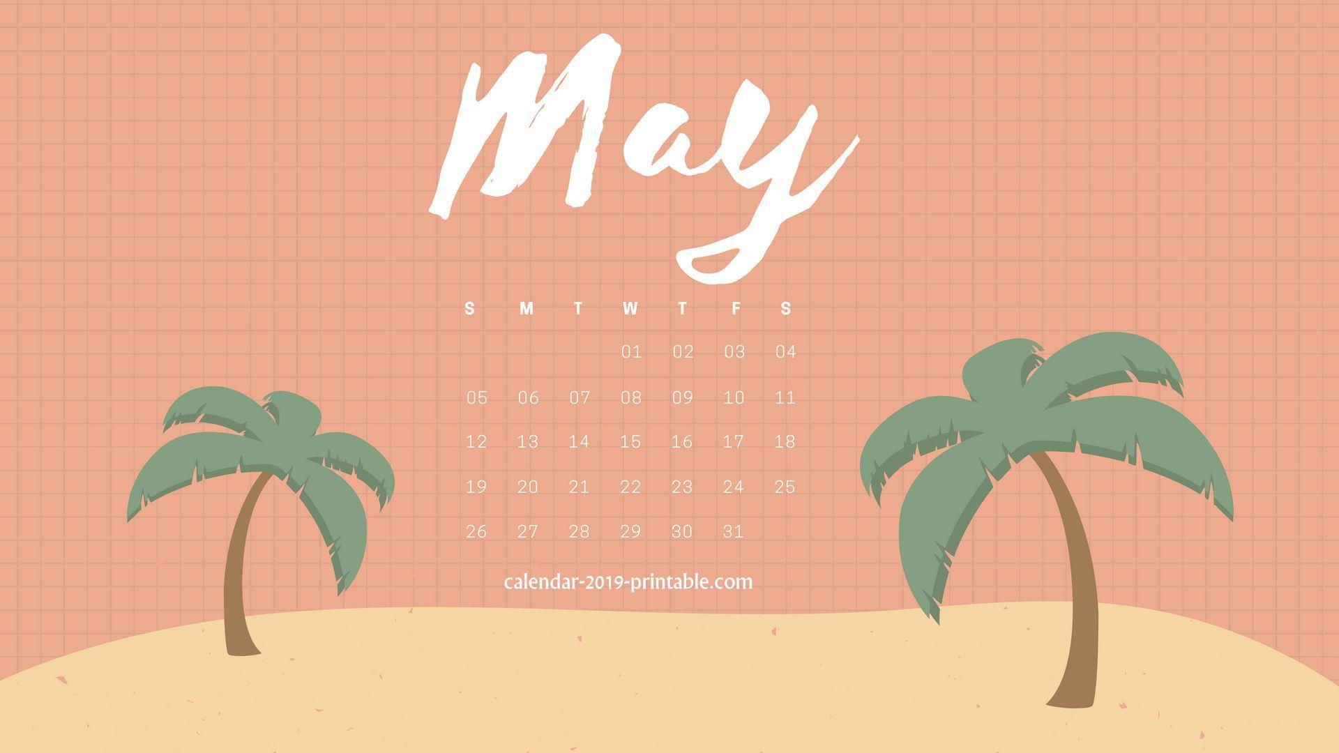 may 2019 calendar wallpaper Calendar 2019 Wallpapers in 2019 1920x1080