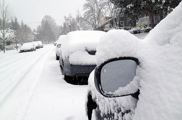 Olympia Wa Snow 611x404