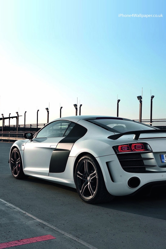 Iphone Ipod Touch Wallpaper Audi R8 GT 640x960