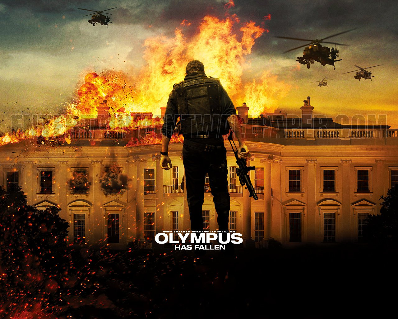 olympus has fallen wallpaper 10038303 size 1280x1024 more olympus has 1280x1024