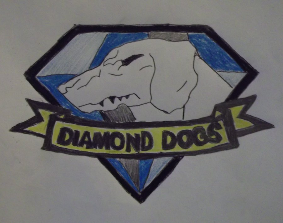 Diamond Dogs Metal Gear Wallpaper Diamond dogs by flyinglion76 900x710