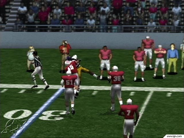 NCAA College Football 2K2 Road to the Rose Bowl Screenshots Pictures 640x480