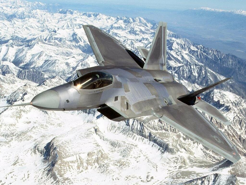 Free Download File Name F 22 Raptor Over Mountain Wallpaper High