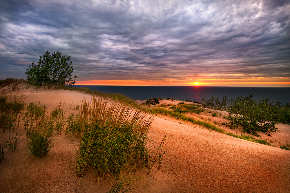 Stormy Sunset At Sleeping Bear Fine Art Nature Photography by Steve 1000x667