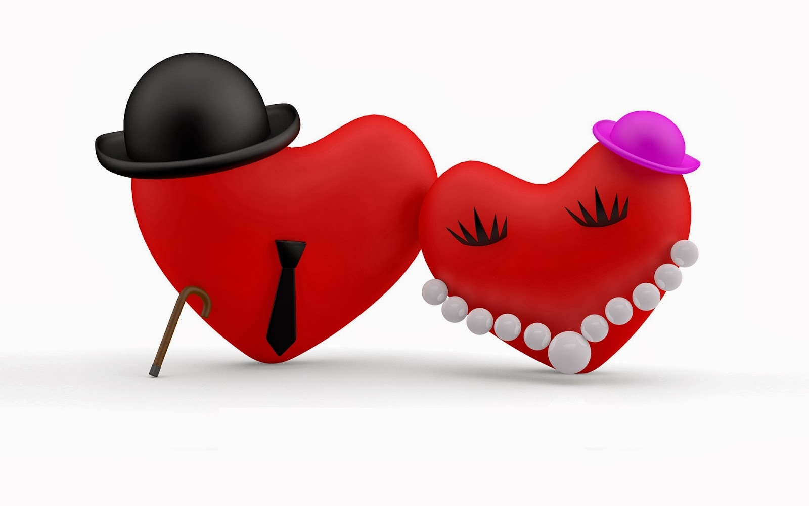 Free Download Love Heart Hd Wallpapers And Images Couple Of Heart