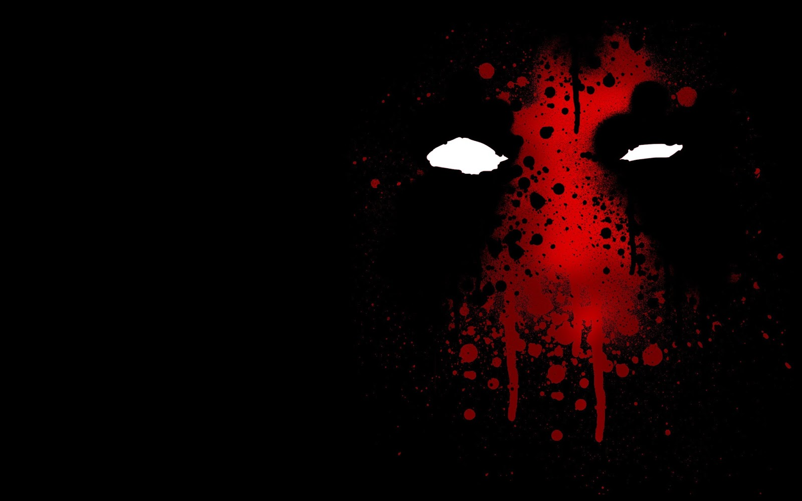 Superhero Black Dark Background HD Wallpaper Desktop PC Background 1600x1000