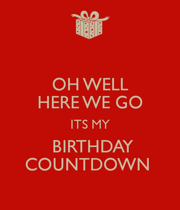 Birthday countdown wallpaper wallpapersafari - How to make a countdown your wallpaper ...