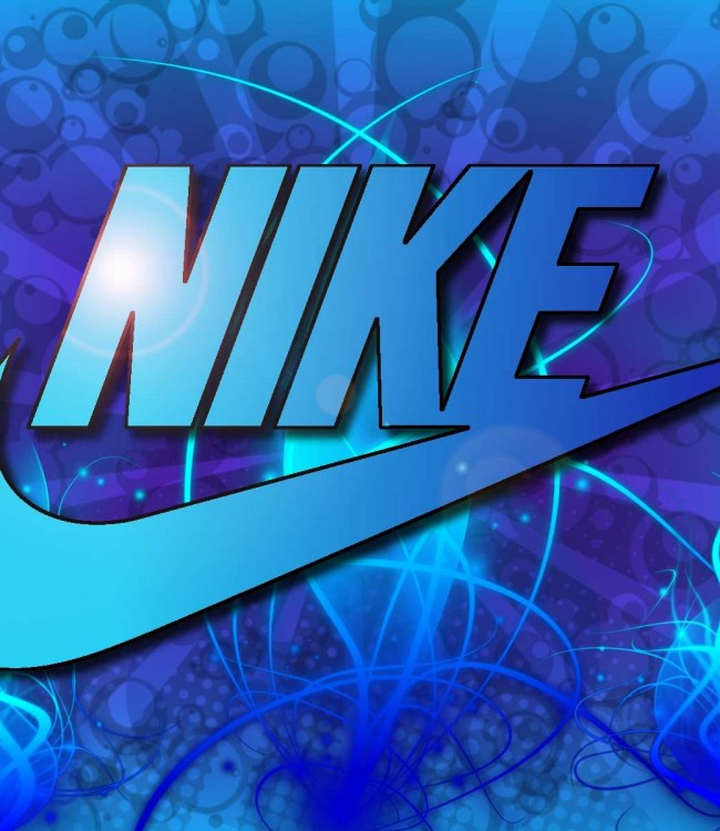 Blue Nike Wallpaper 650x750