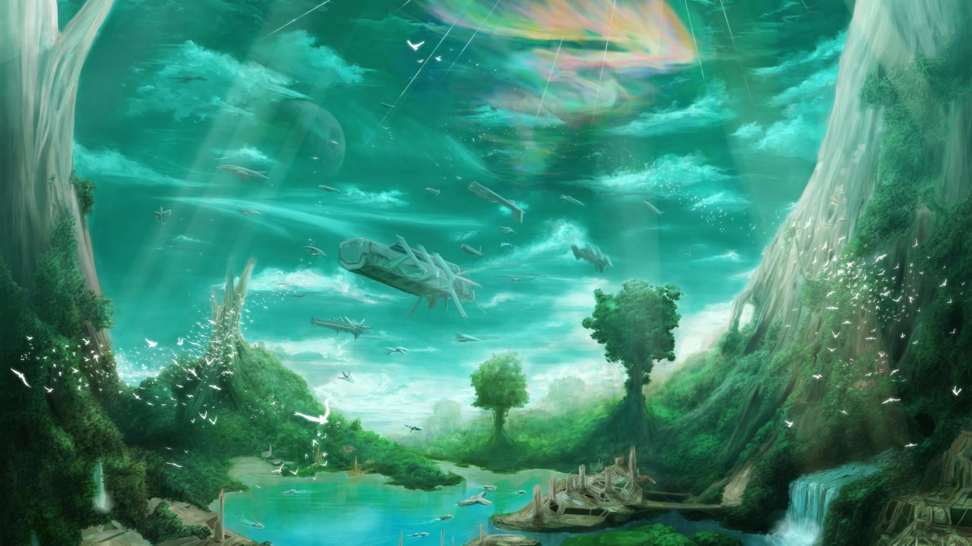 Download Fantasy Paradise Wallpaper Full HD Wallpapers 1920x1080