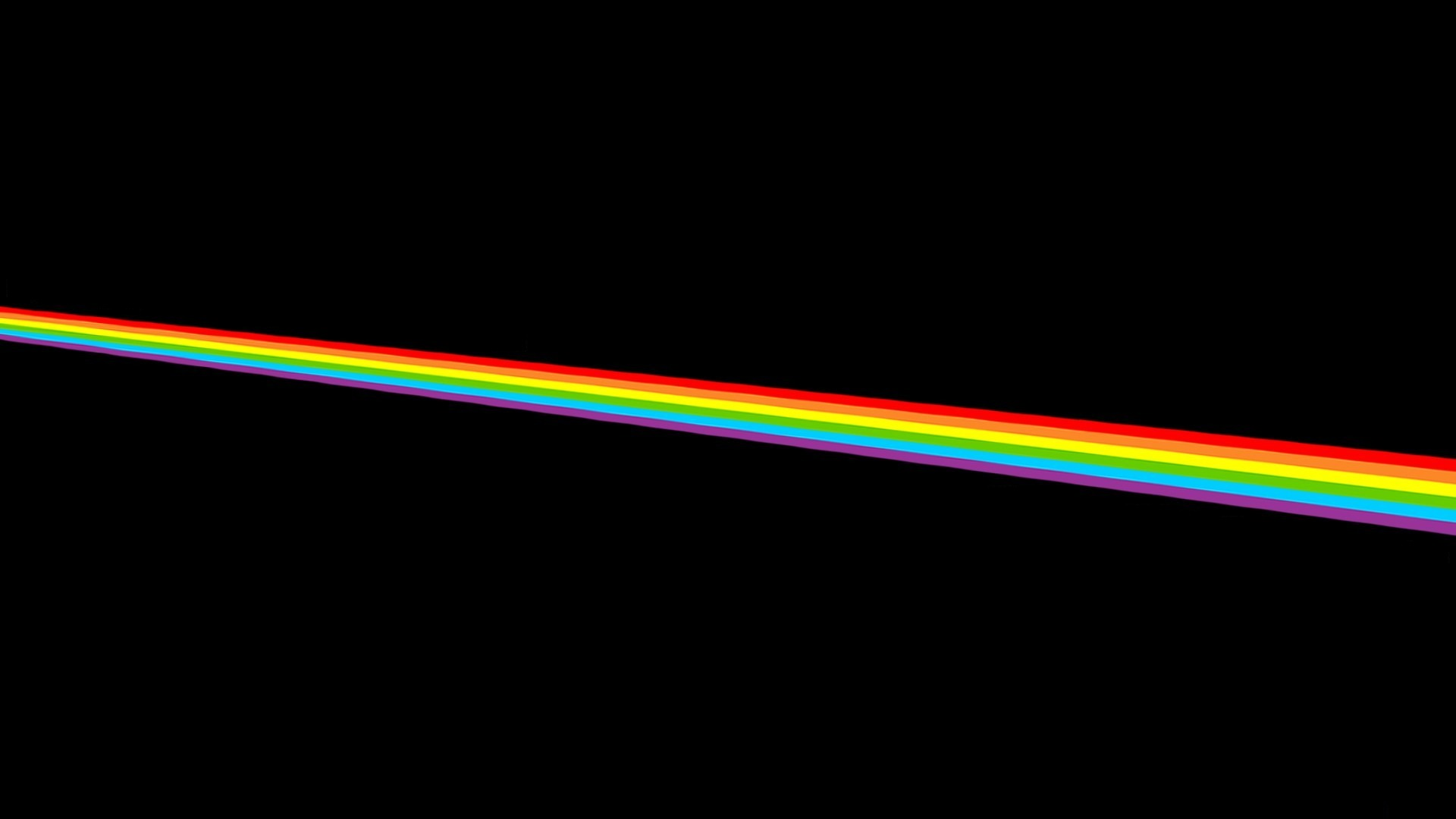 Download wallpaper color music the moon rainbow Pink Dark 1920x1080
