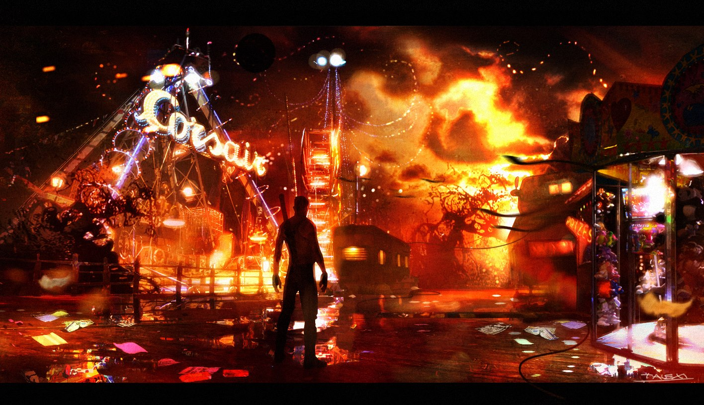 dmc devil may cry wallpaper wallpapers55com   Best Wallpapers for 1416x815