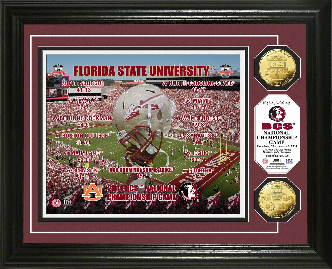 Florida State Seminoles Photomints and Coins NCAA Coin Photomint 1152x936