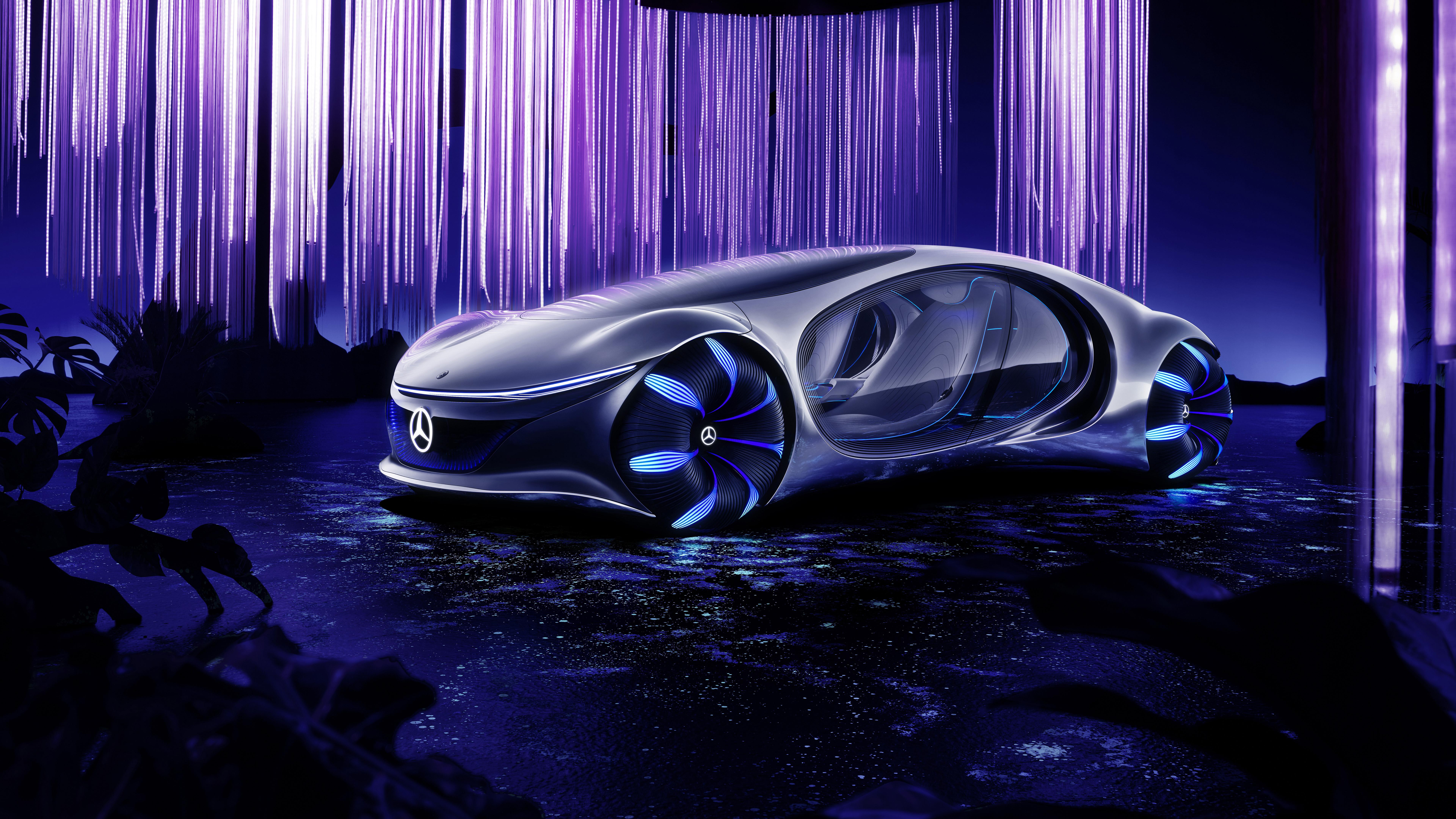 Mercedes Benz VISION AVTR 2020 4K 8K Wallpaper HD Car Wallpapers 7680x4320