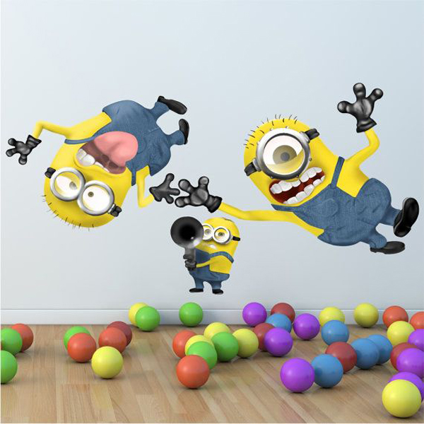 Adorable Kids Bedrooms With Minion Ideas House Design And Decor 600x600