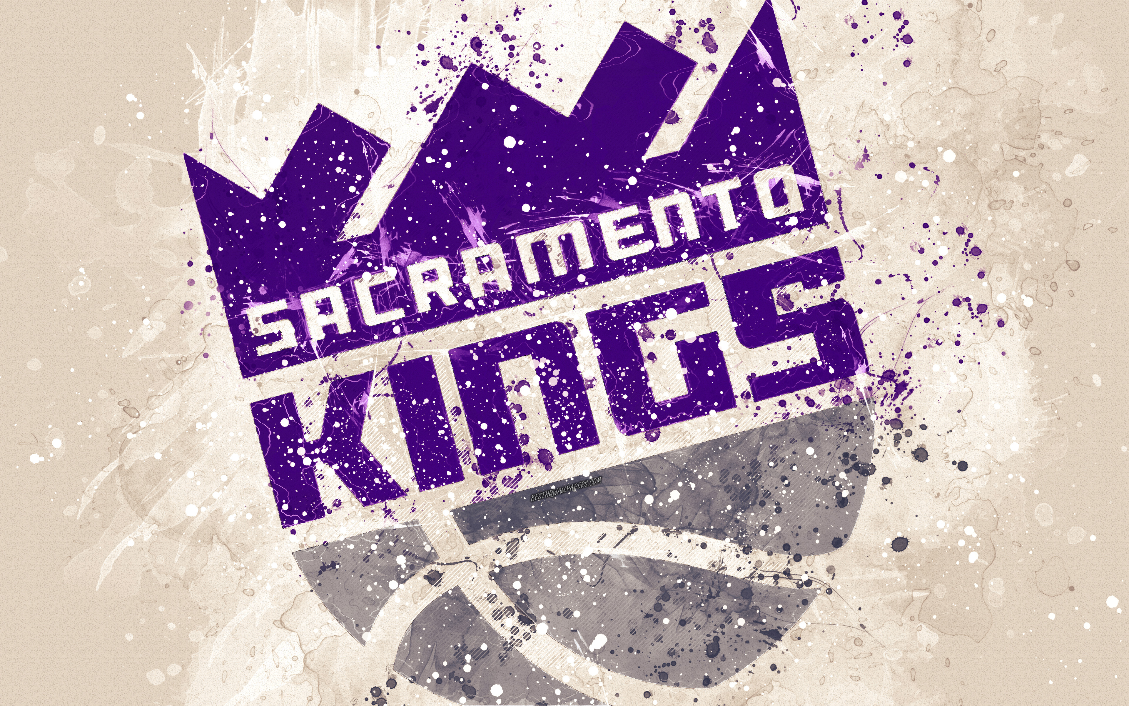 Sacramento Kings Logo 4k Ultra HD Wallpaper Background Image 3840x2400